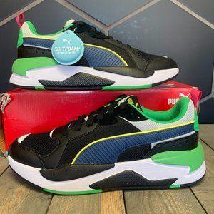 Puma X-Ray Black Green Sneaker (Multiple Sizes)